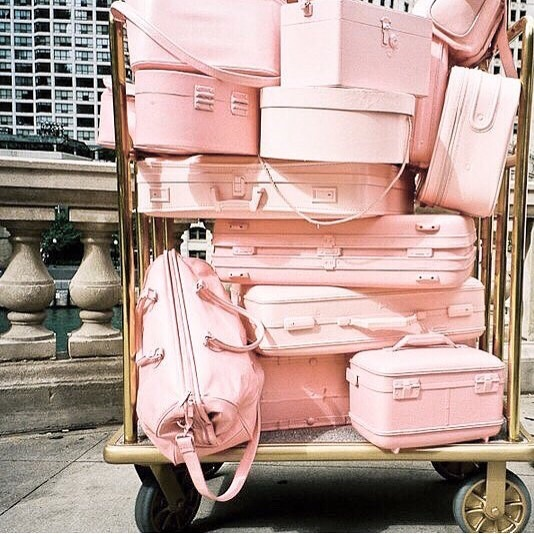 coming home from paris like 🛍