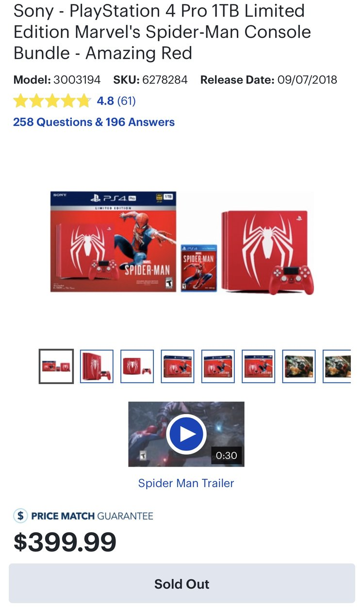 Sony x Marvel Limited Edition Spider Man PS4 Seeding Launch