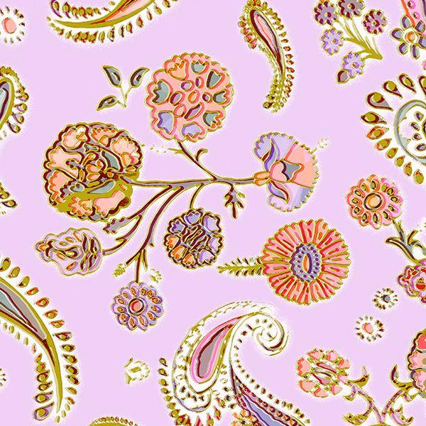 PAISLEY GARDEN lilac -