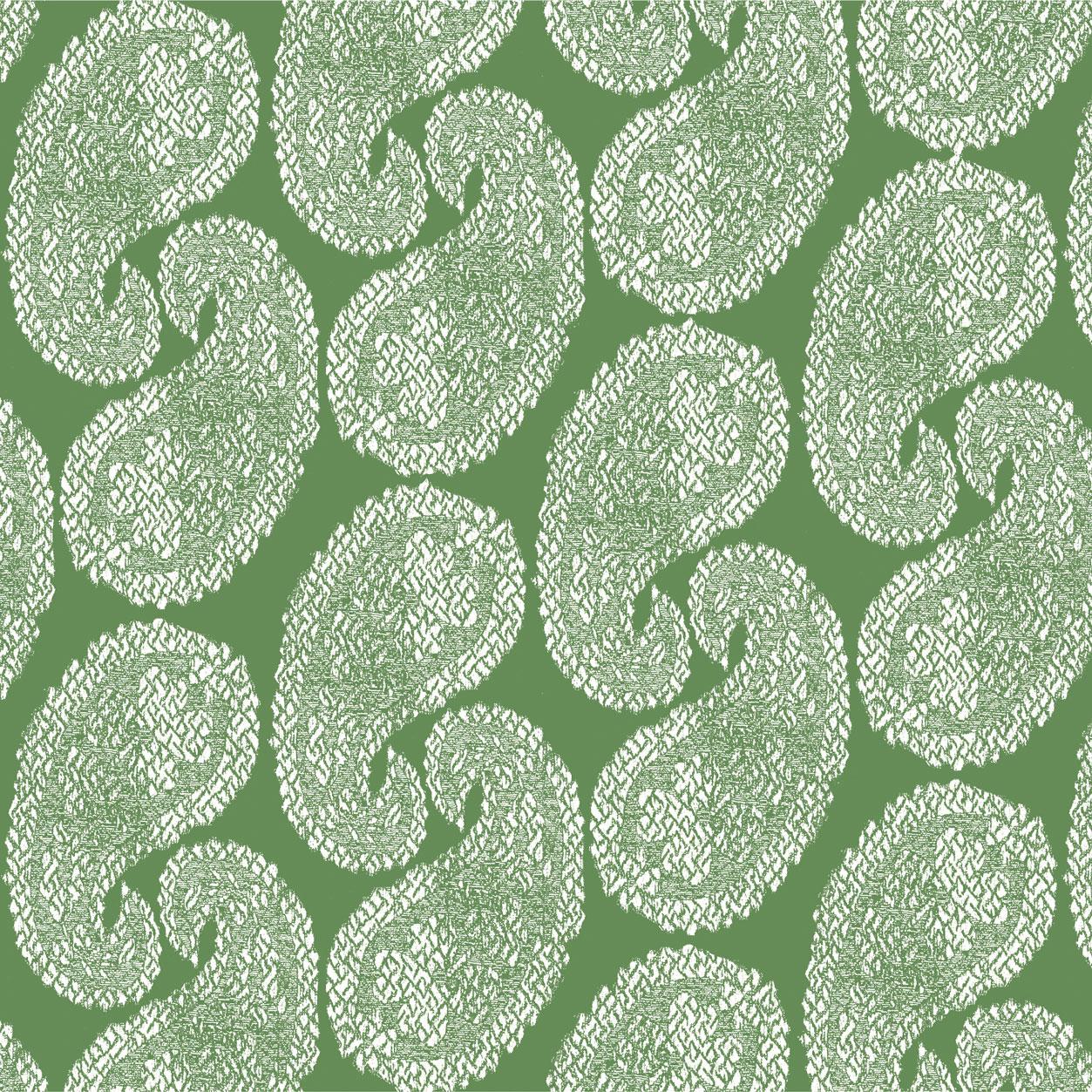 WORN PAISLEY REVERSE coriander -