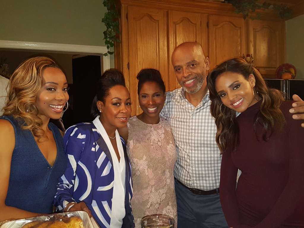 The evening we wrapped our last episode 409 with Erica Ash, Tichina Arnold, Al Mitchell and Meagan Tandy on  Survivor's Remorse
