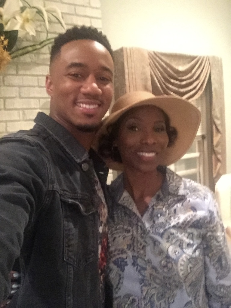This was super special playing alongside Jessie Usher's Cam as the seductive soon to be mother in law Mrs. Pierce (in his imagination)