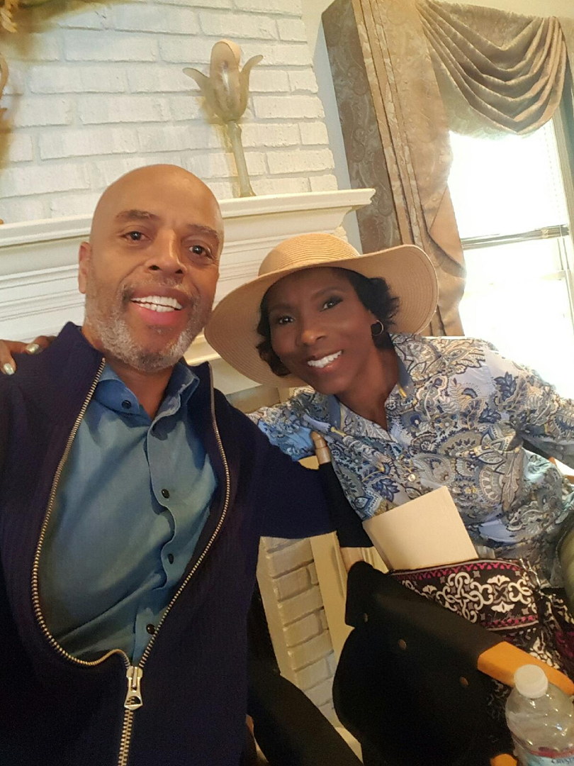 with Al Mitchell as Mr and Mrs Pierce Survivors Remorse ep 408