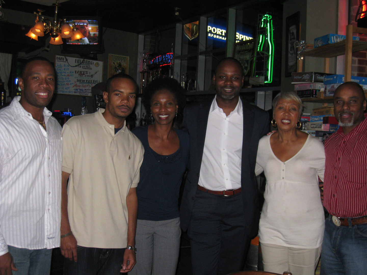"""With BJ Winfrey (director) of short film """"Mothers"""""""