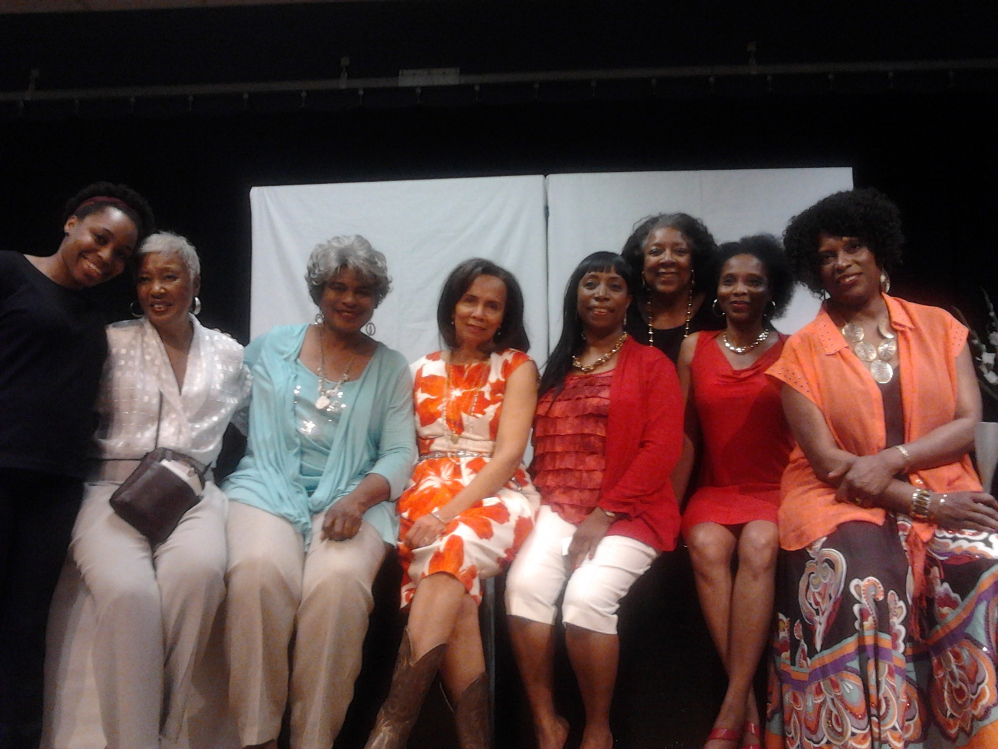 Cast, Playwright, & Director of Jacqueline Clay Chester's play  Ina's Loft