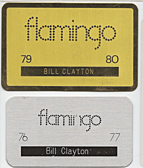 Membership cards to The Flamingo