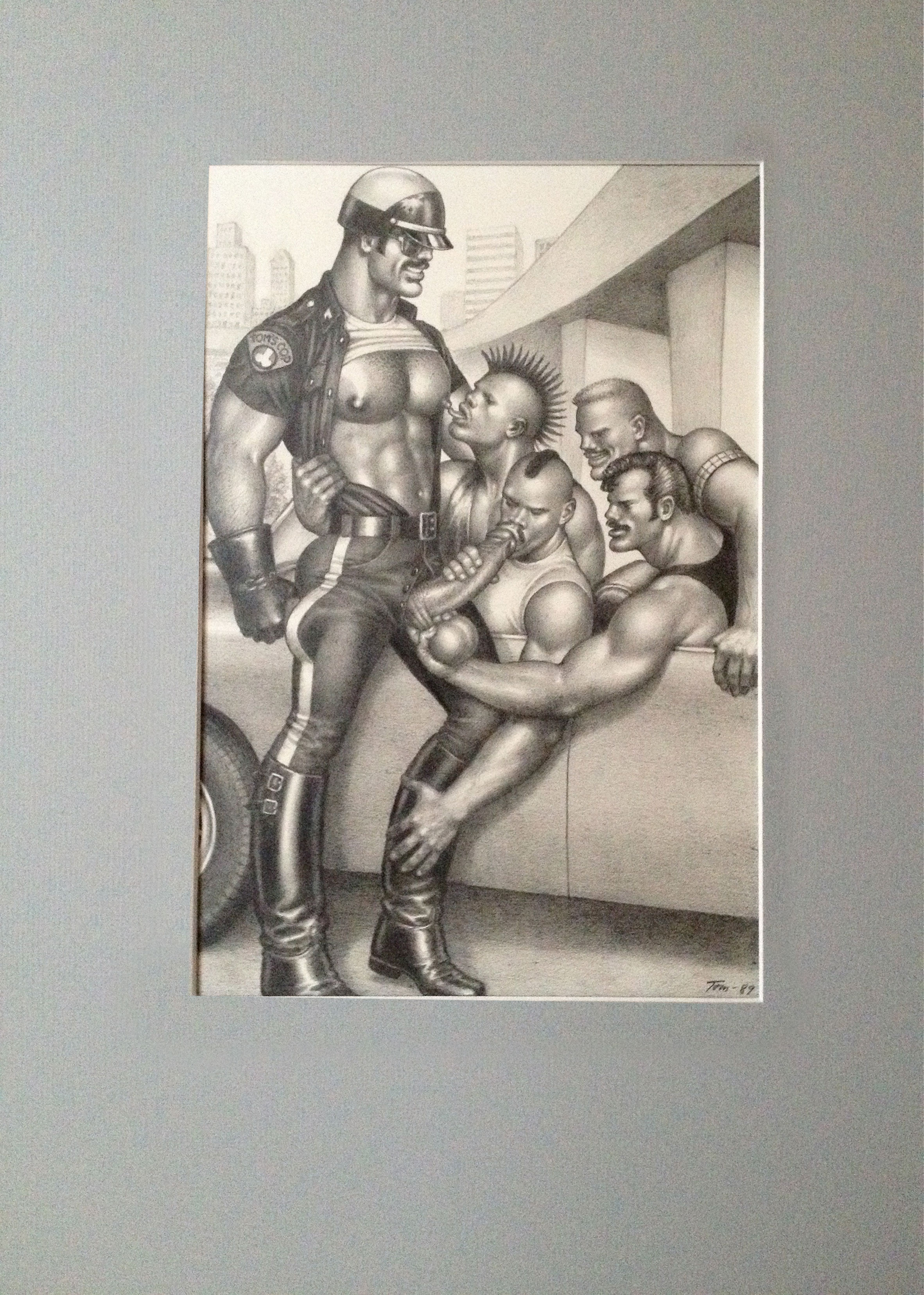 Tom of Finland Artwork Original - Part of The Saint Foundation Archives
