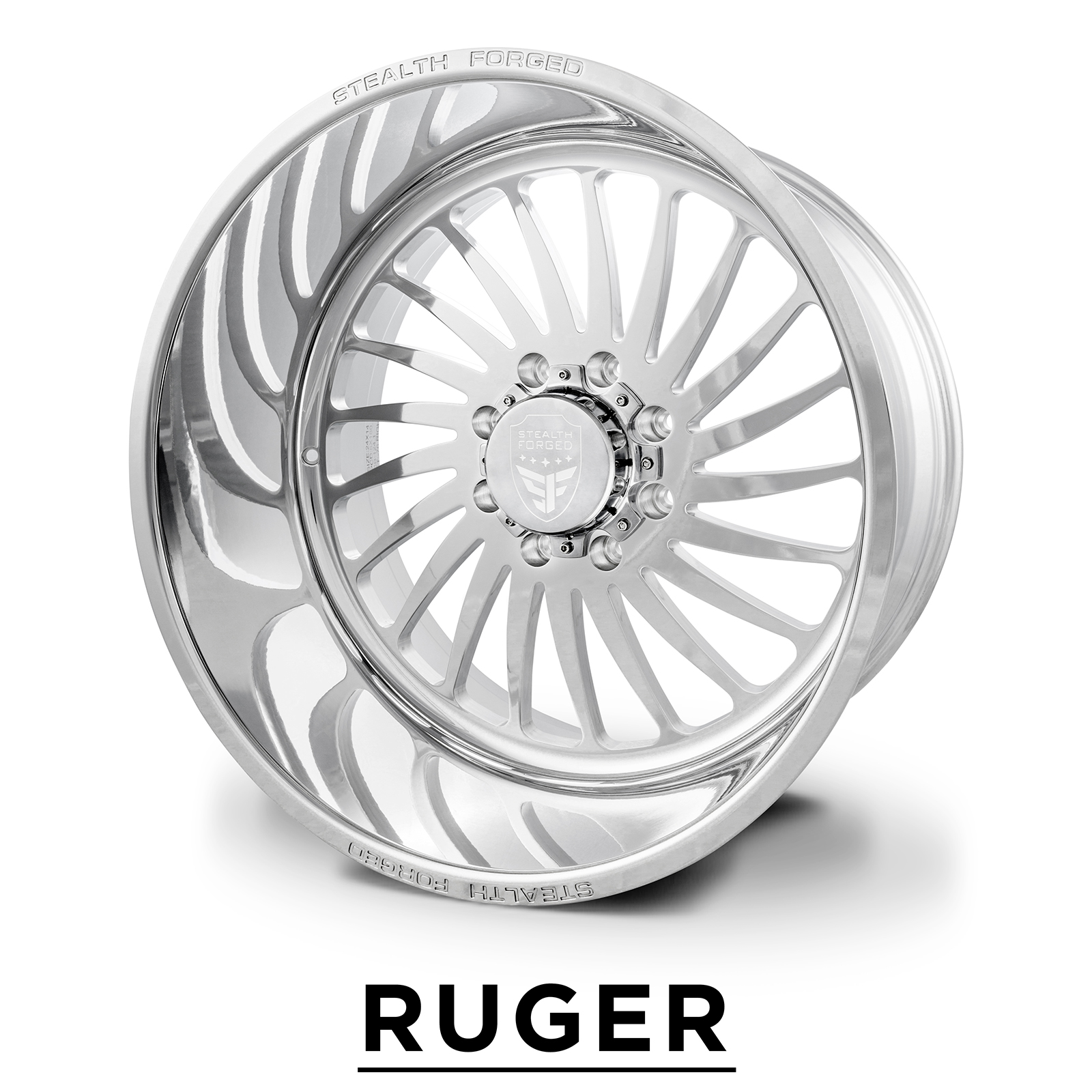RUGER | forged polish | 22x12, 24x14