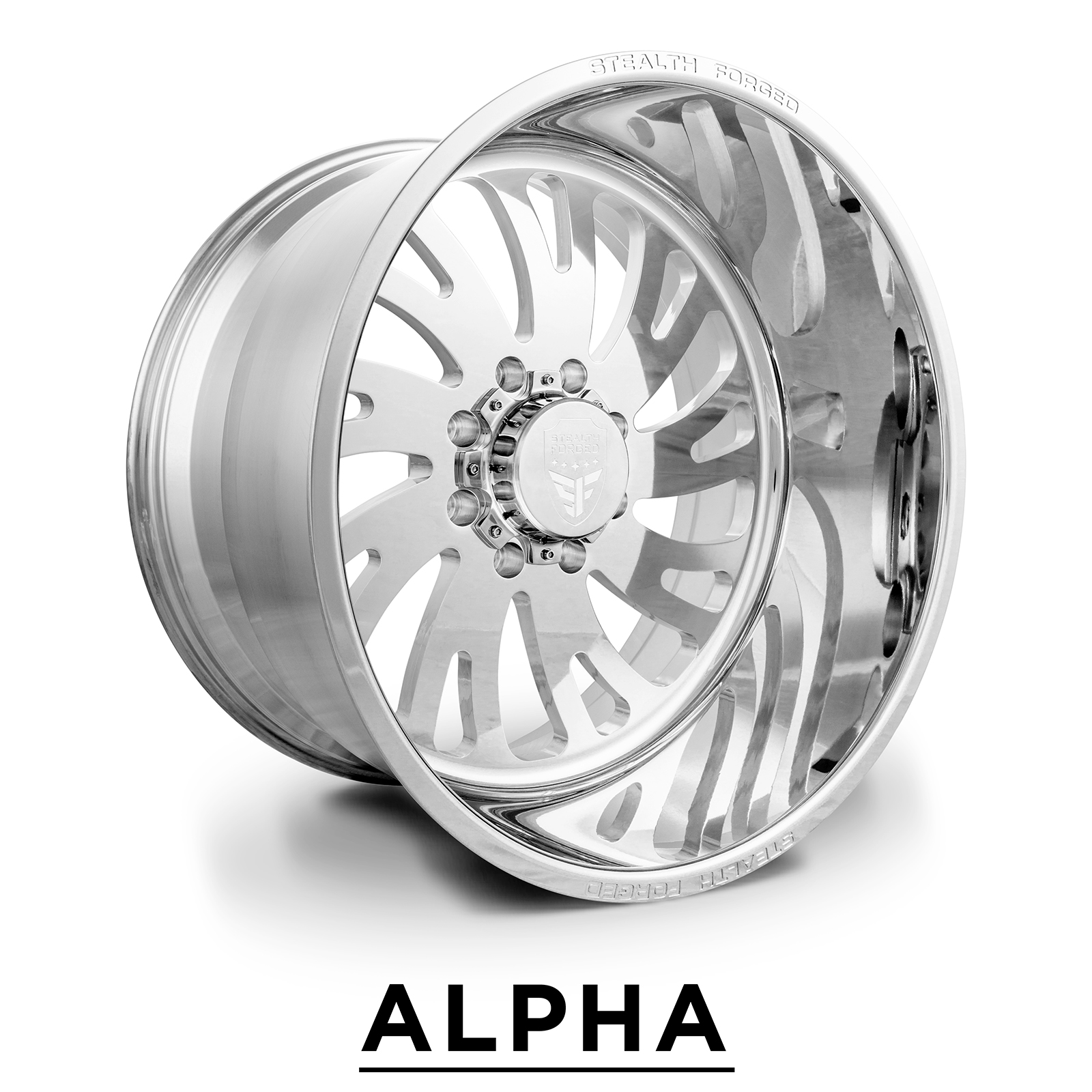 ALPHA | forged polish | 22x12, 24x14