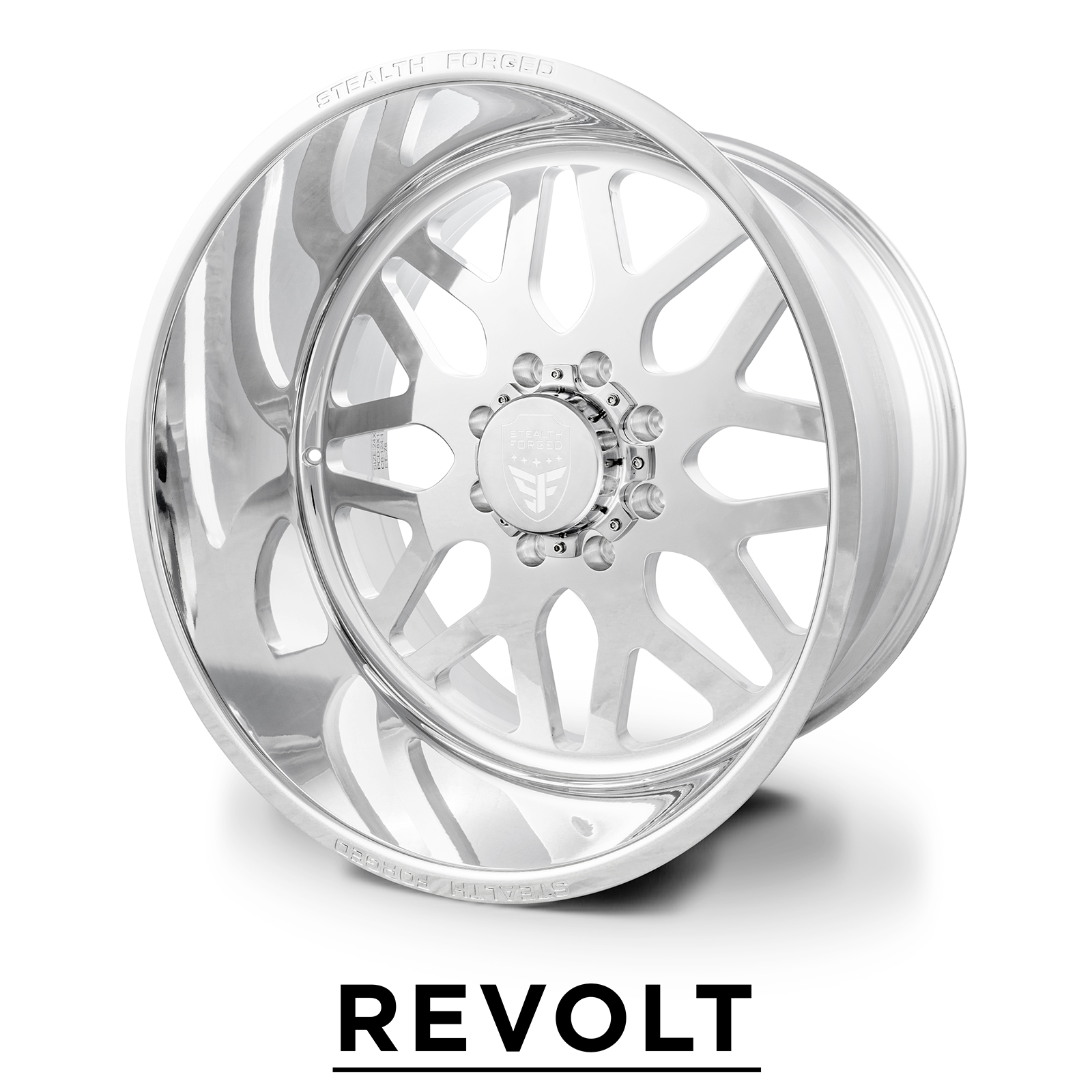 REVOLT | forged polish | 22x12, 24x14