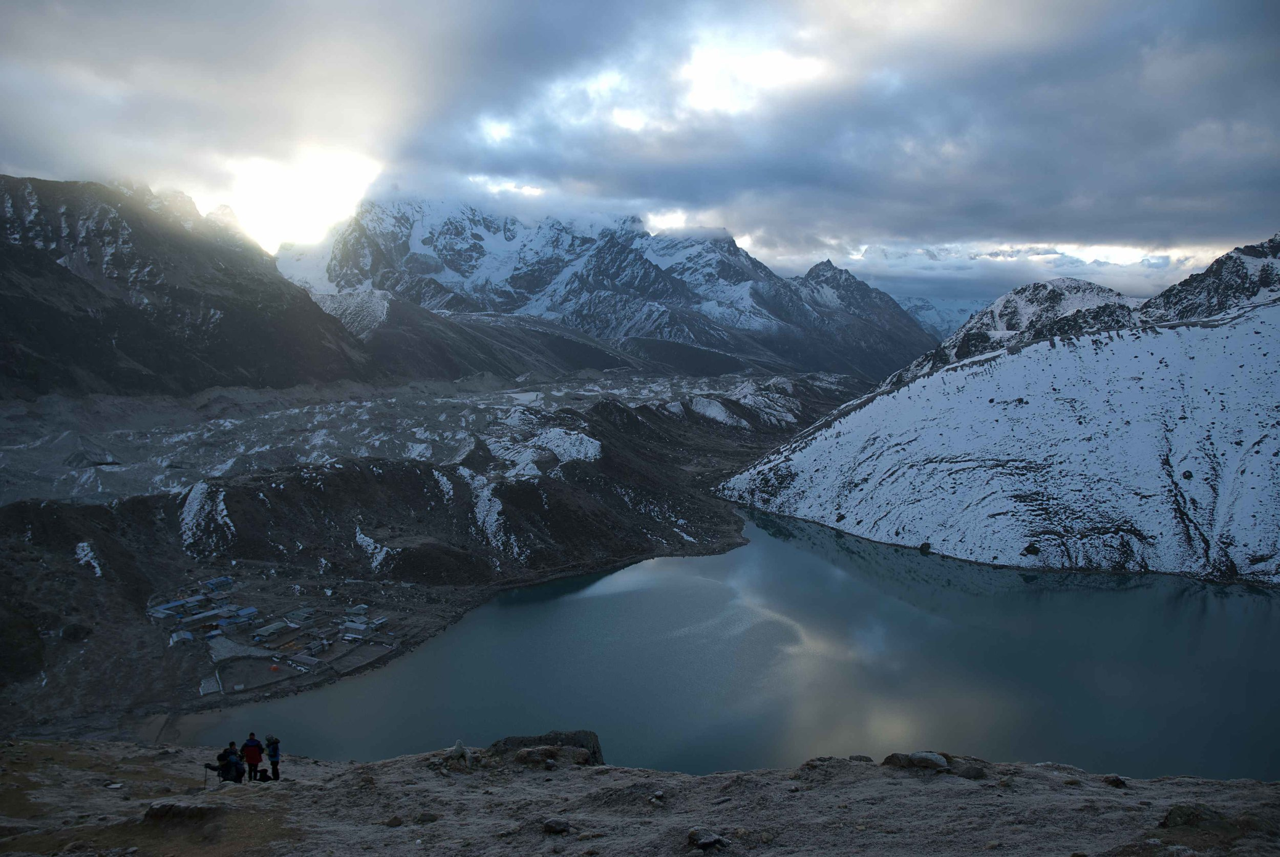 In the Realm of Yetis, Gokyo Ri, Nepal. Image: David Cauldwell