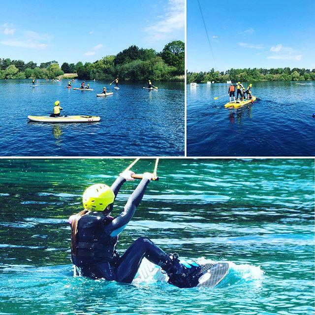#kidsclub - Running weekday mornings in #schoolholidays 👉 www.tattershallwaterpark.co.uk/paddle-sports