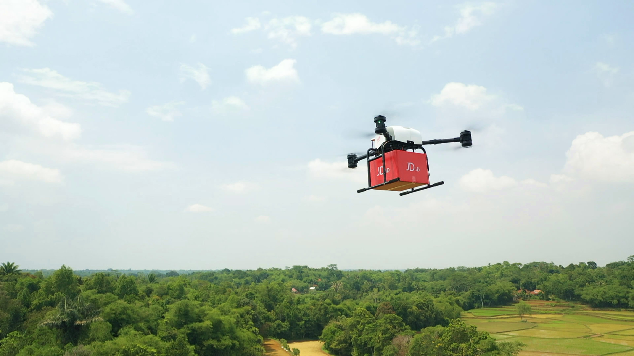 …same Hour instead of same Day Delivery… - Logistic system, which already use drone in rural areas and deliver . You can even order a coffee online and get