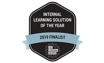 Global finalist for Internal Learning Solution of the Year