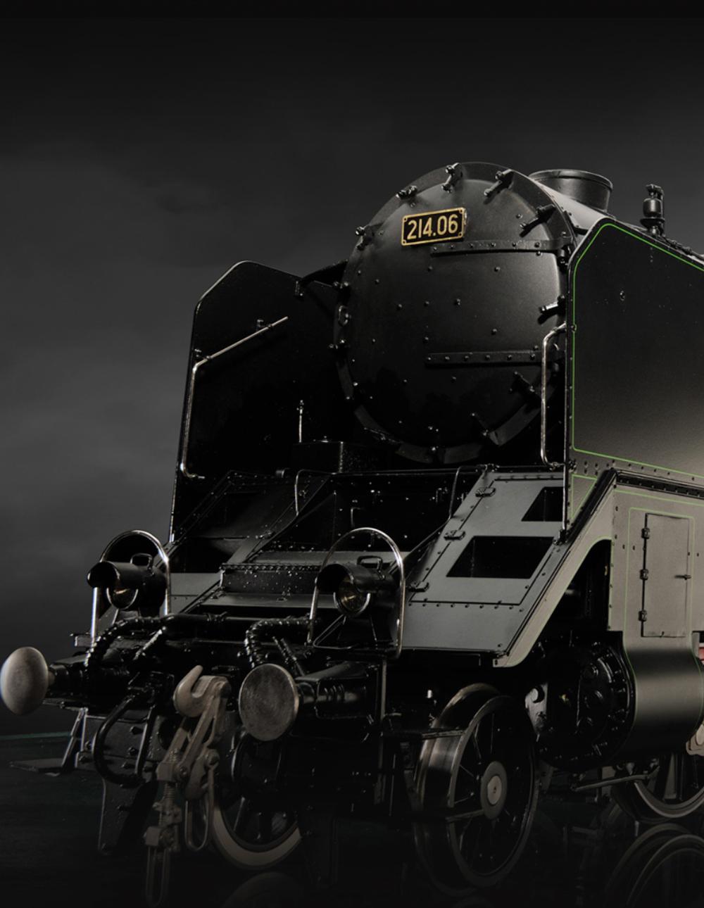 BR 214 /12 - Die Königin der Westbahn