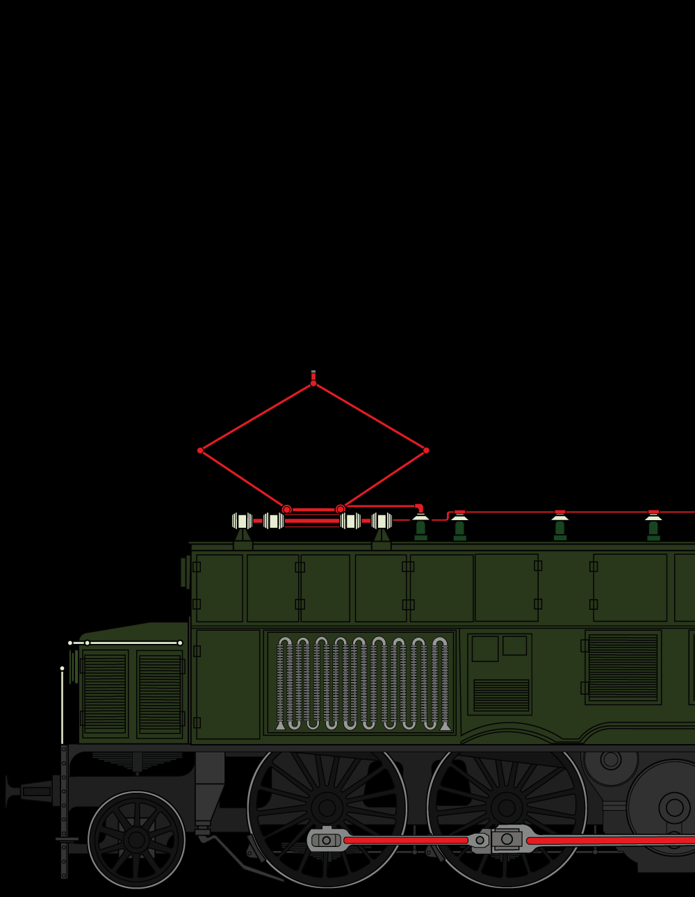 Reihe 1029/1073 - Die erste E-Lokomotive im Salzkammergut