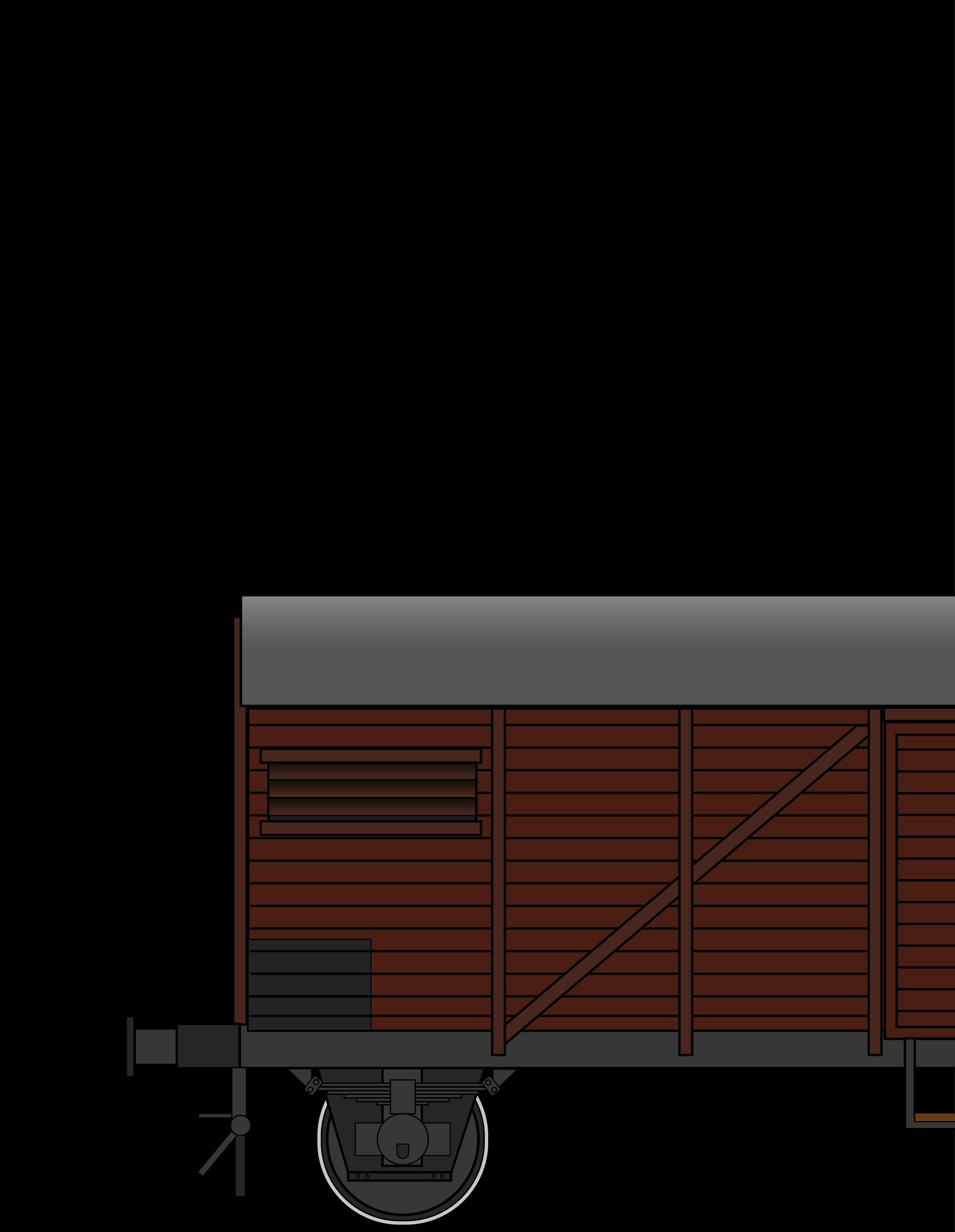 """Gmhs 35 """"Bremen"""" - gedeckter Güterwagen"""