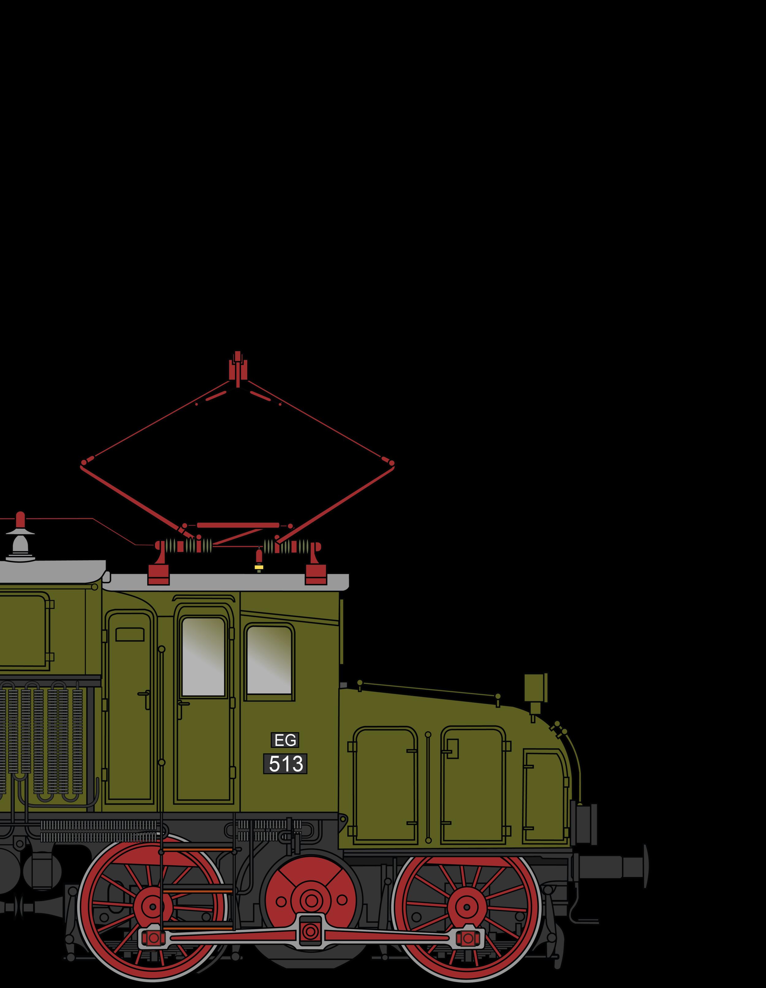 EG Reihe 511/E71 - Das preußische Krokodil