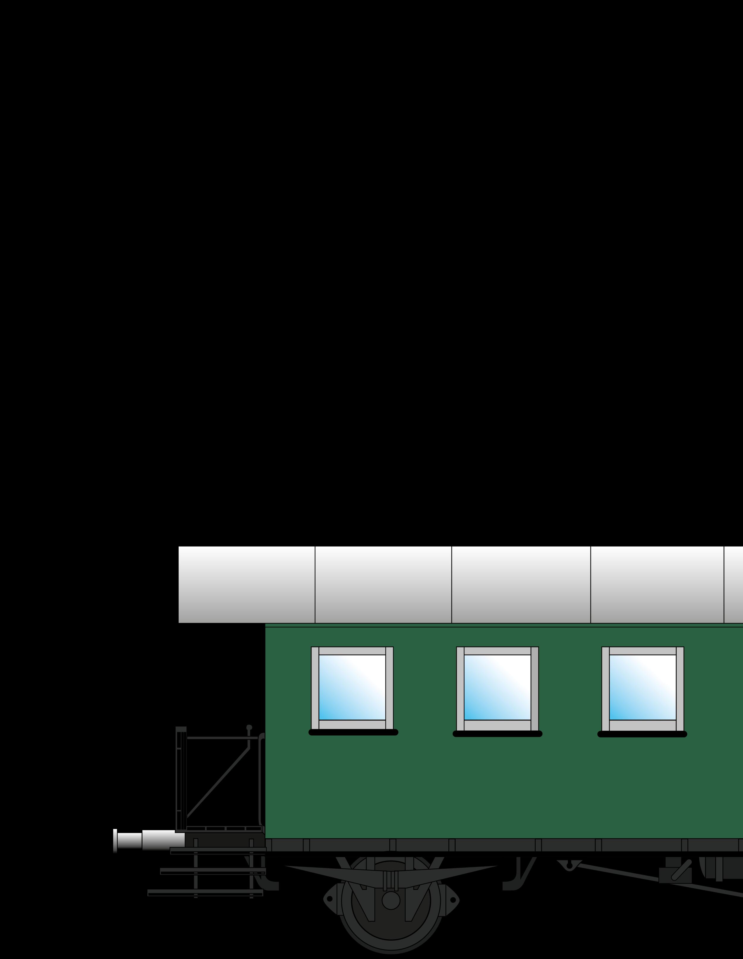Spantenwagen - 7-Fenstrig