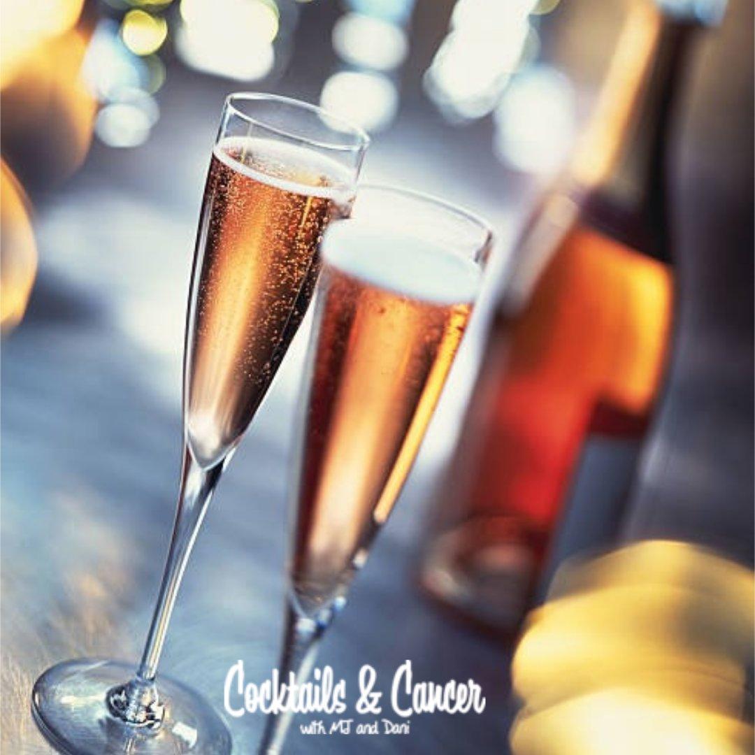 MJ and Dani Cava Rose Sparkling Wine.JPG