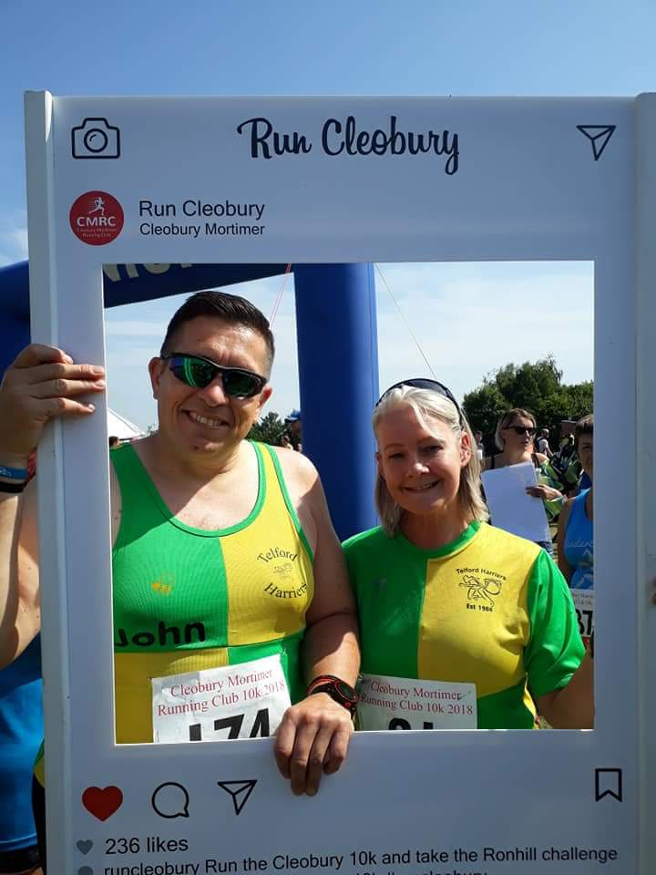 Great 10K...great friendly, supportive marshalls...absolutely fantastic – from start to finish...Support from townsfolk was also amazing  Angela, Telford Harriers, 2018