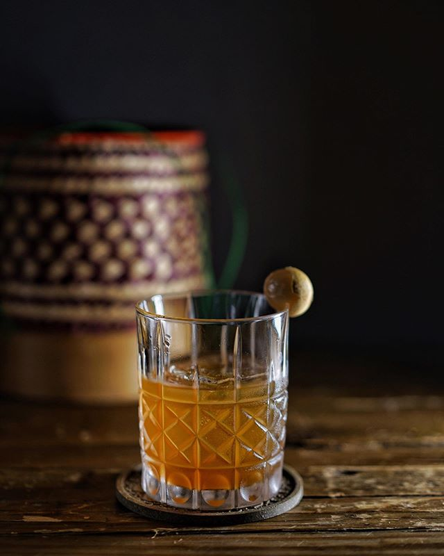 Our party fuel puts the FUN in Funky Lam 🔥 Try the Longan Old Fashioned, a heavy hitter with longan infused bourbon and bitters.