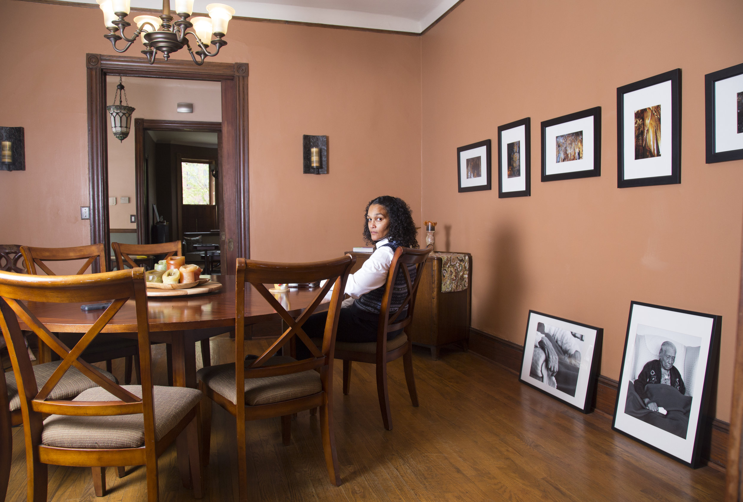 Photography by Akea Brionne Brown of Colette Veasey-Cullors