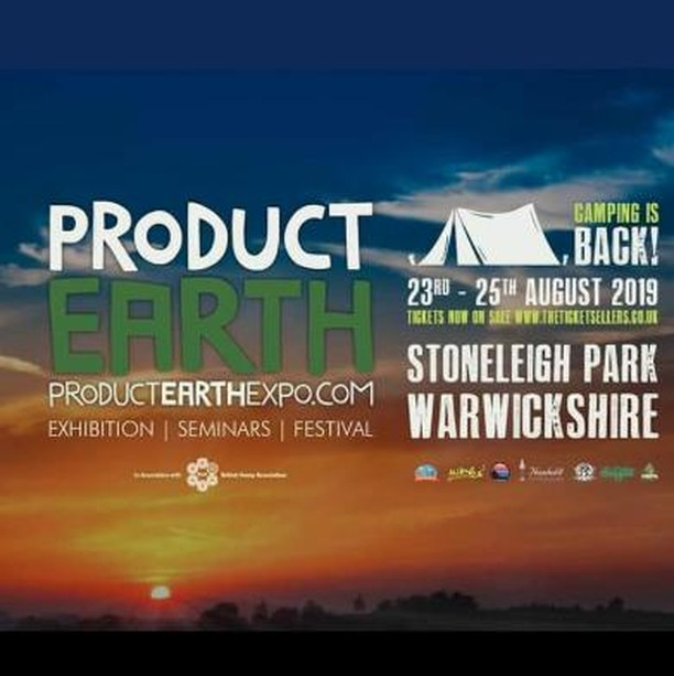 Just over a month away in The West Midlands, UK - @product_earth 2019 will take over Stoneleigh Park for another year, aiming to enlighten, educate and inspire trade & industry around the hemp, CBD and Medical sectors. The Expo  is the leading uk showcase for this exciting and rapidly evolving industry and comprises of an exhibition with seminars, and a two day festival with camping. ⠀ ⠀ Working in partnership with The British Hemp Association, the Expo showcases a plethora of innovators and pioneers who are pushing the boundaries of the hemp, canna, cbd and related industries.⠀ ⠀ Pop through to their website to find out more information! http://bit.ly/2lccTeG⠀ ⠀ #PEX19 #exhibiton #seminar #festival #hemp #education #professionals  #farmers #public #augustbankholiday #3days  #weekend #thc #cbd #cbn #cbg #thca #CBDUK #hemp #cannabisindustry #cannabisconversation #CBD #THC #medicine #podcast #drugreform #festival #ukfestival #summerfestival
