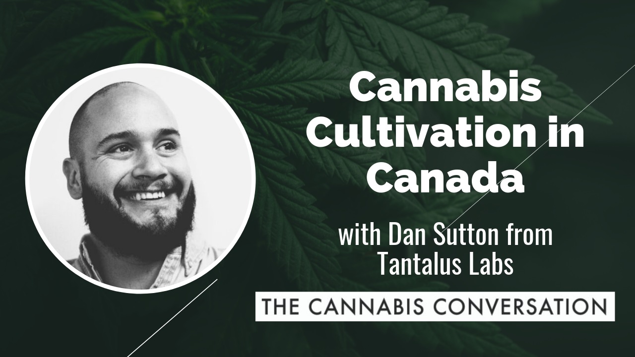 EPISODE #24 Cannabis Cultivation in Canada with Dan Sutton, CEO at Tantalus Labs.png