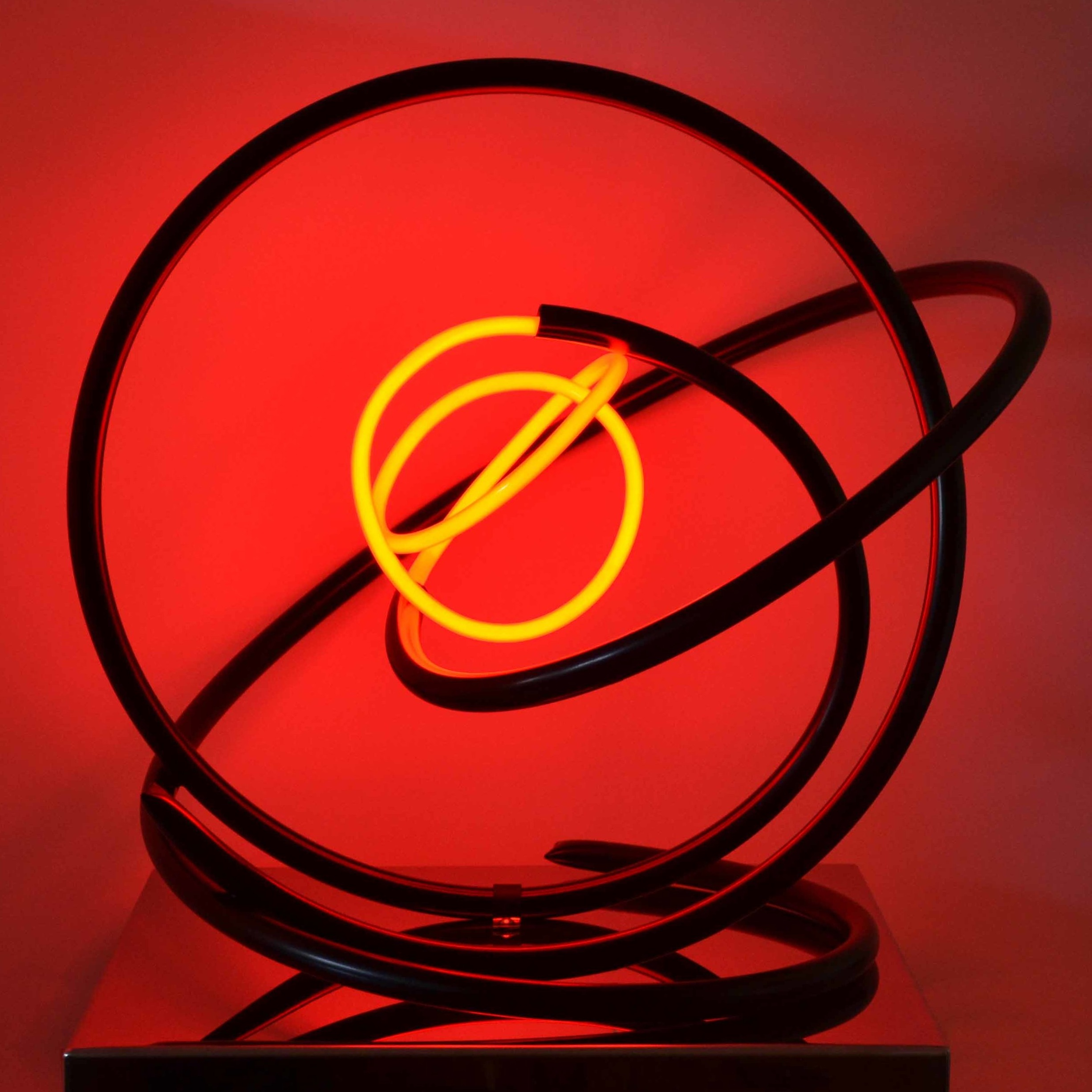 Red Neon Orb
