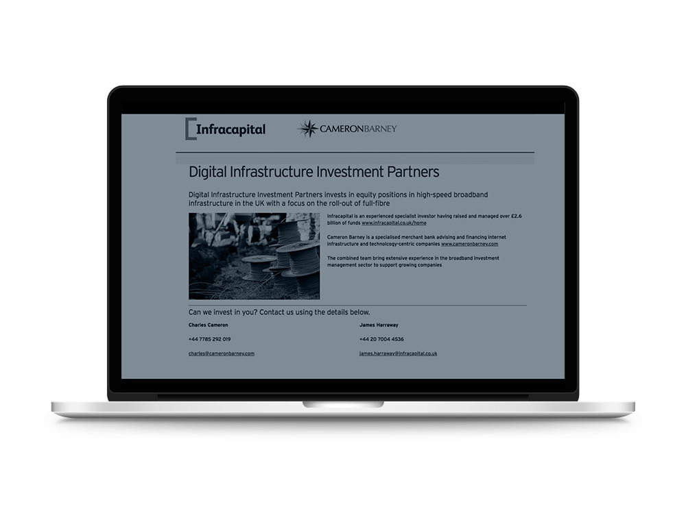 Digital Infrastructure Investment Partners