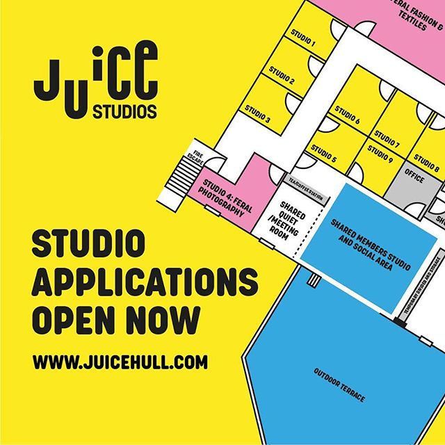 Excited that we can finally reveal studios. Application forms are live on the website. Link in bio.