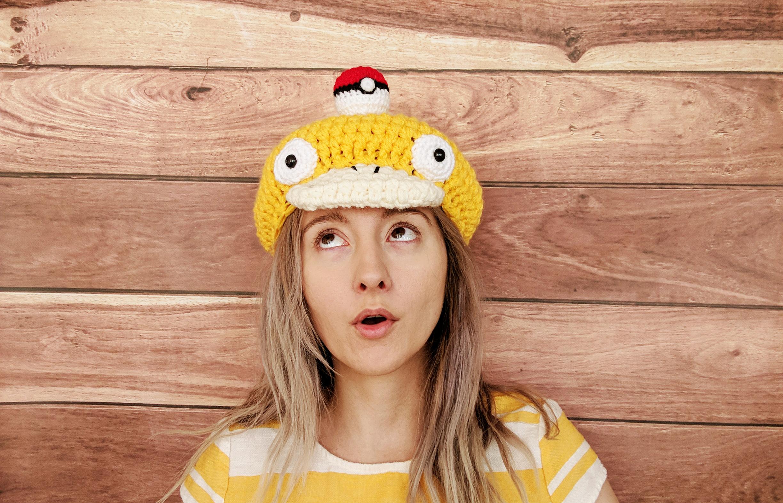 FREE Pokemon Pikachu Inspired Hat Crochet Pattern - YarnWars.com | 642x1000