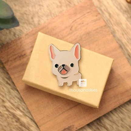 French bulldog pin