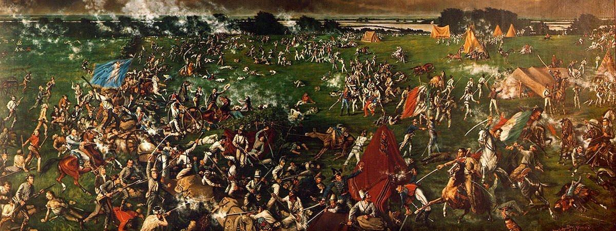 """The Battle of San Jacinto"" by Henry Arthur McArdle"