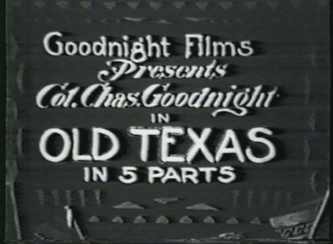 1916 Silent Film by Charles Goodnight