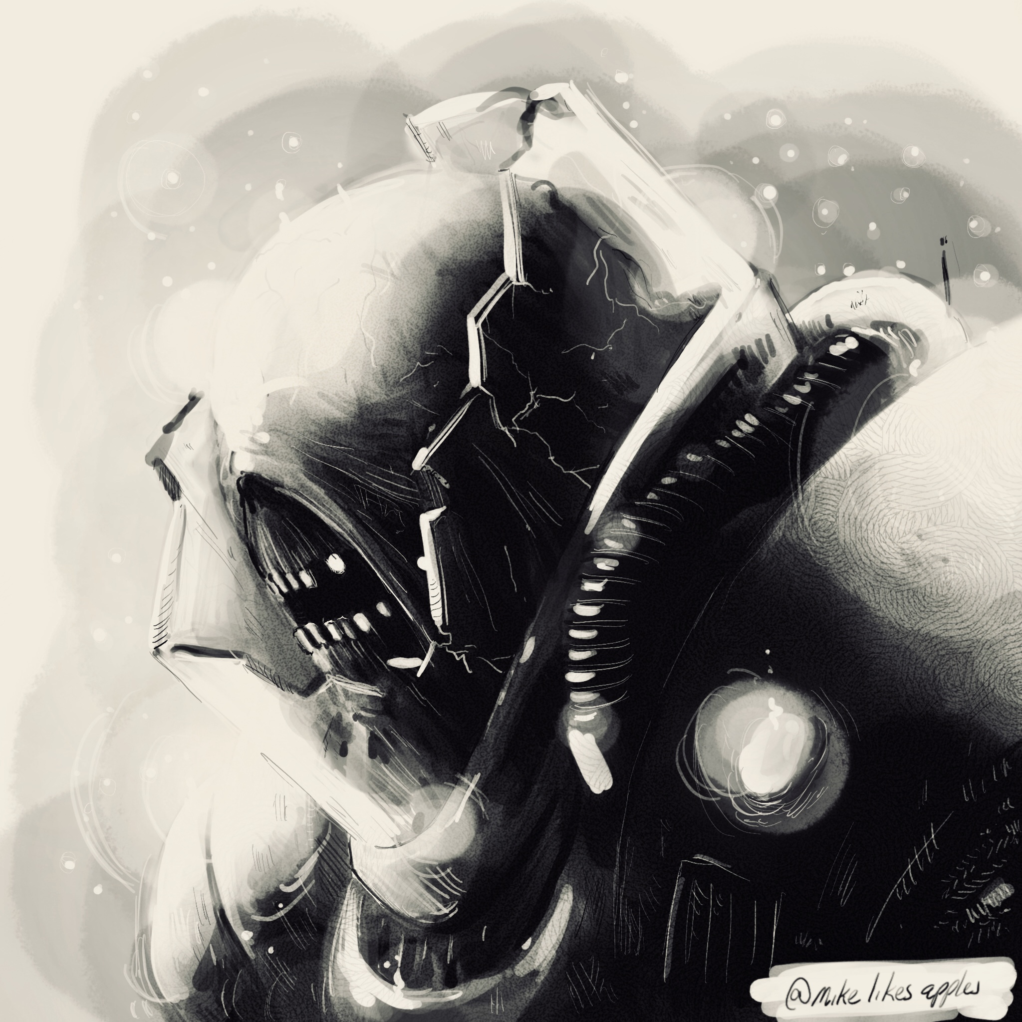 """""""These abominable wraiths devour all living things. They are a crime against existence itself, pulled back from the ether to live a half life of mindless servitude to the Hidden God."""""""