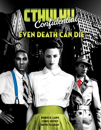 Pelgrane Publishing releases PDF collection of 9 scenarios in an intimate noir setting.