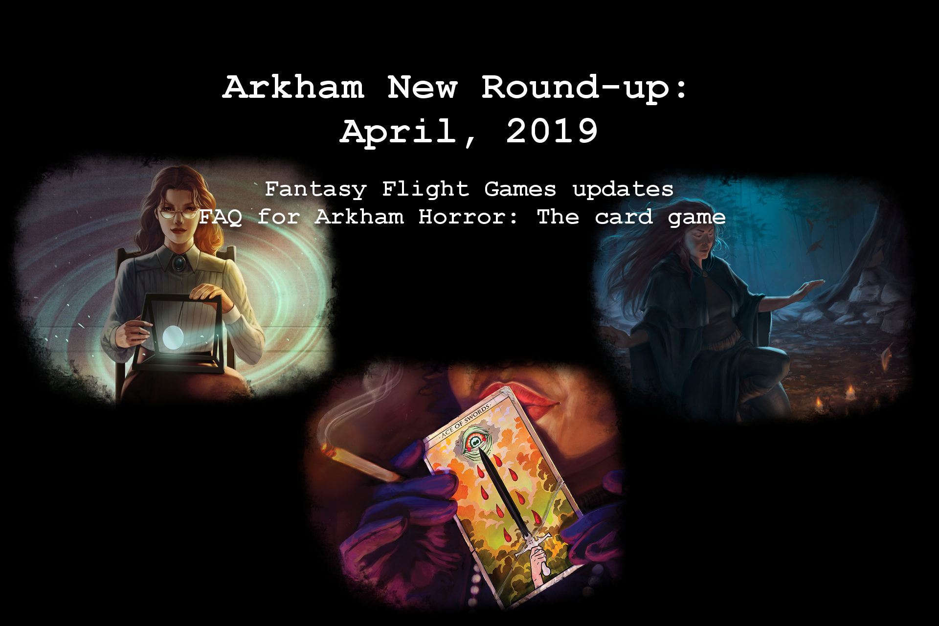Arkham News Round up April 2019 FAQ.jpg