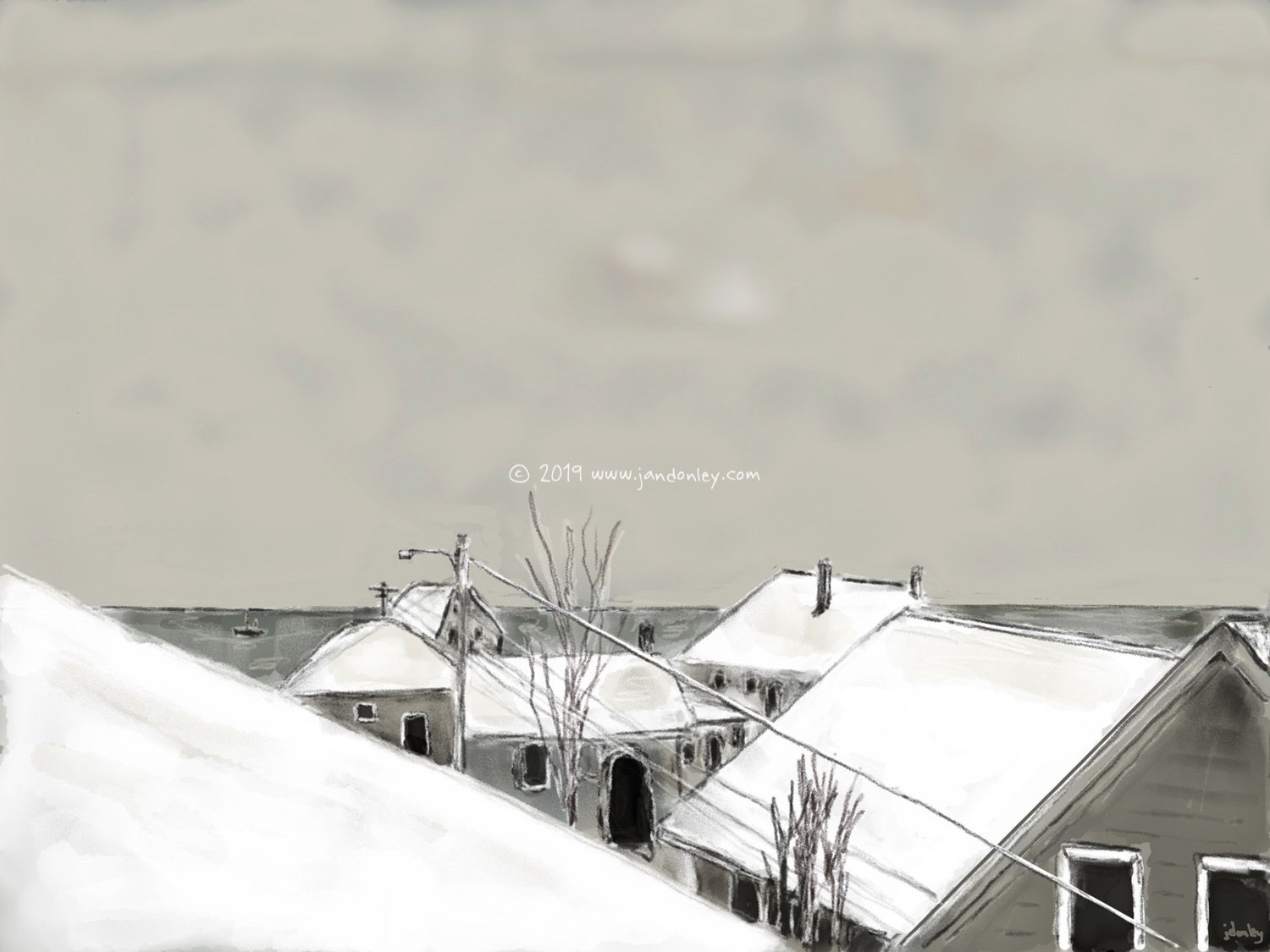 Provincetown Rooftops