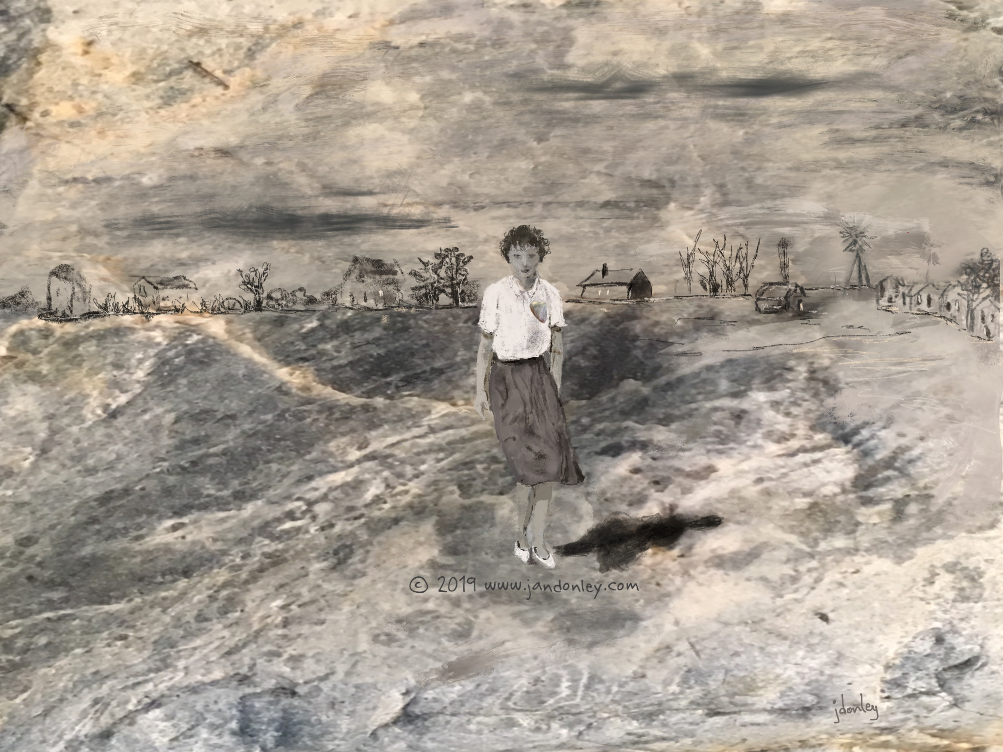 """Dust Bowl Marie"""