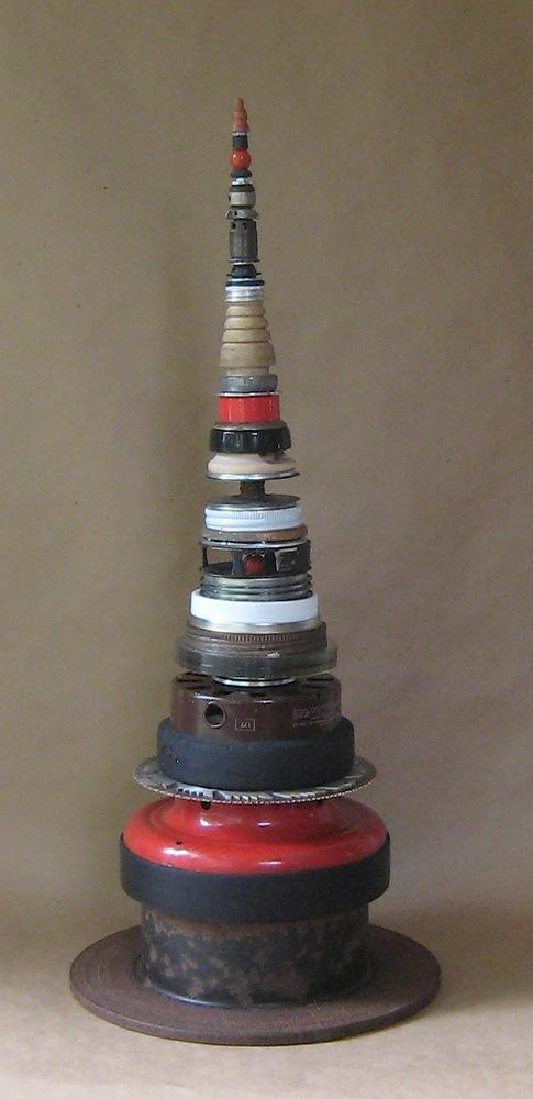 red stupa