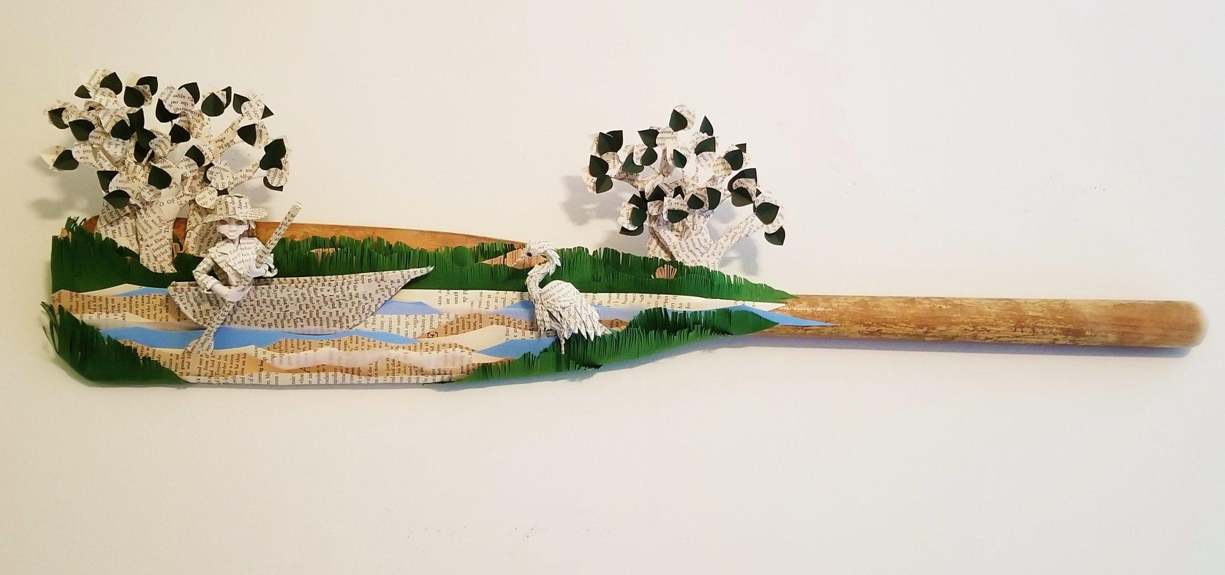 Jodi_Harvey Susquehanna Canoe.jpg:Users:Kieran:Desktop:Phila Sculptors:Oars for Art:Jodi_Harvey Susquehanna Canoe.jpg