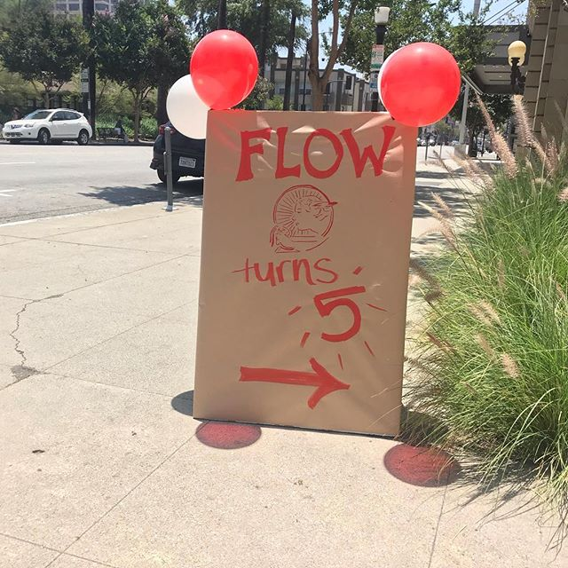 Today! Now until 5! Join F.L.O.W. at the Armory Center for the Arts as we celebrate five years of books, bikes and feminism