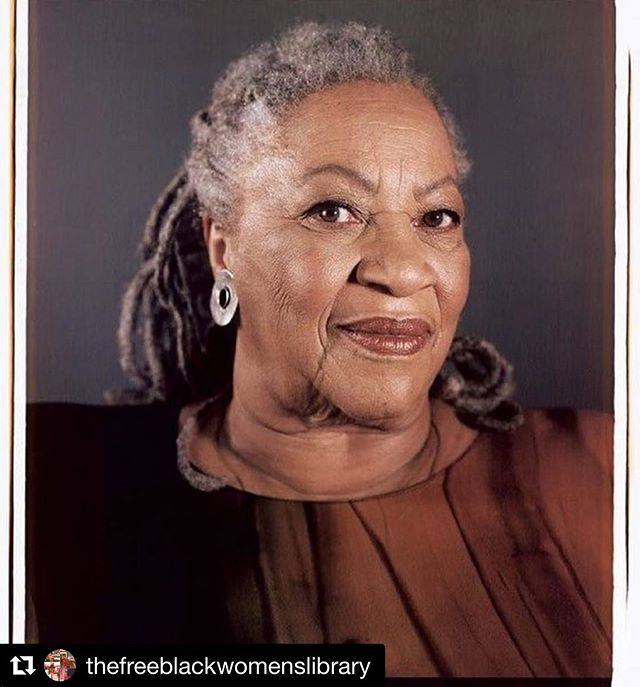 """#Repost @thefreeblackwomenslibrary ・・・ MY HEART FEELS LIKE ITS STUCK IN MY THROAT AND MY SPIRIT FEELS SHATTERED.  A primary influence and reason that The Free Black Women's Library exists has passed on to the other side we are committed to honoring her spirit and legacy, which will live on forever through her words.  We exist because of her!! I need a hug 😭😭😭😭 RP• @nymag Breaking: Author Toni Morrison has passed away at the age of 88. The celebrated novelist was best known for her critically acclaimed and best-selling novel Beloved, which won the 1988 Pulitzer Prize for fiction. """"We die,"""" Morrison closed her Nobel Prize address. """"That may be the meaning of life. But we do language. That may be the measure of our lives."""" Link in bio. 📸: Chuck Close RG @vulture"""