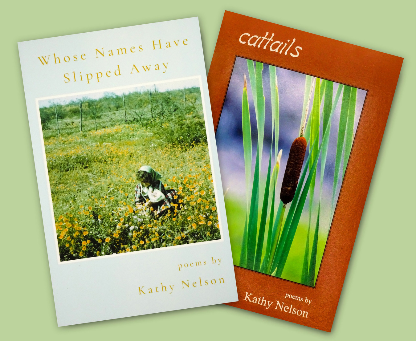 Poetry Books on Life & Nature, Kathy Nelson, Asheville, NC.jpg