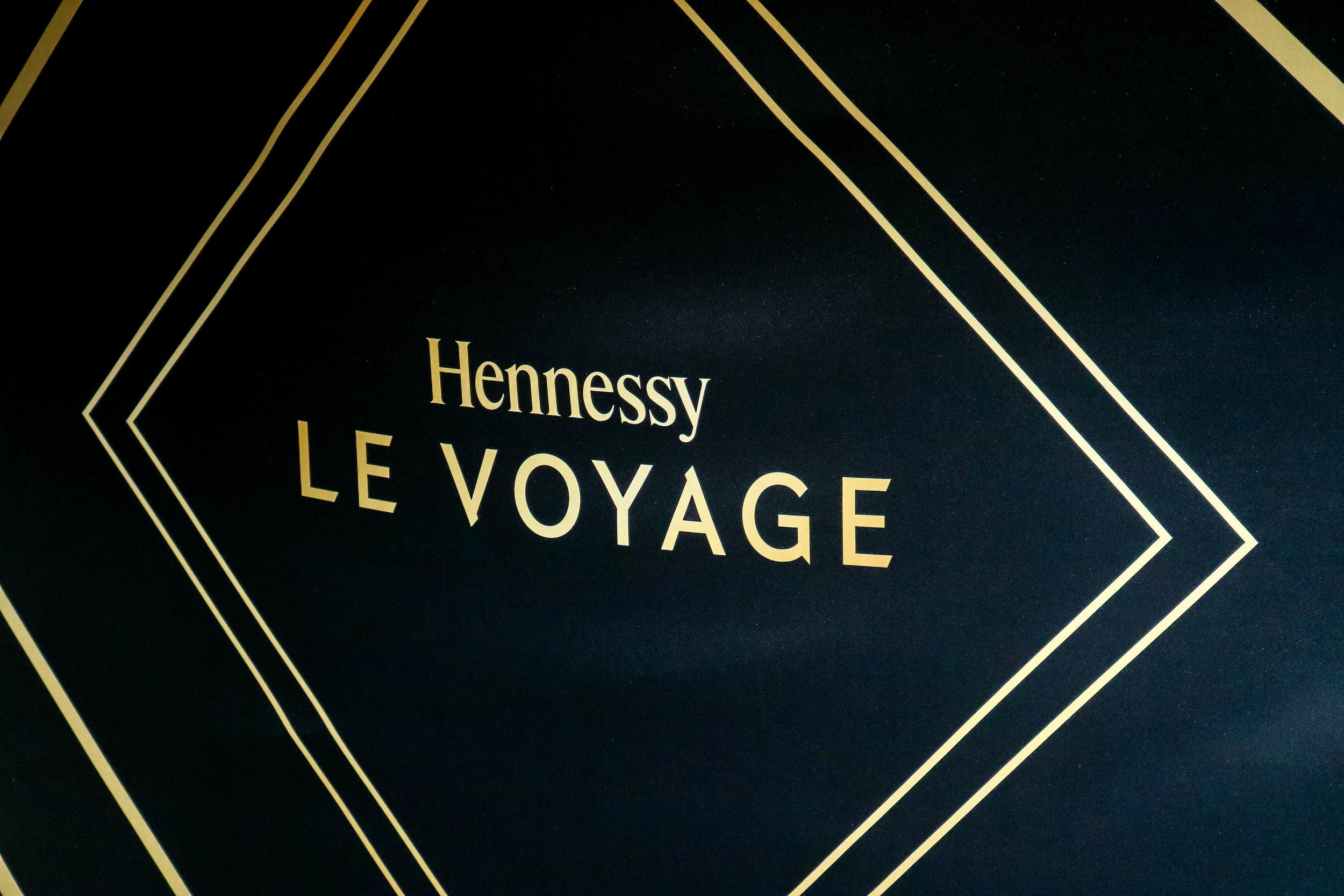 Hennessyle voyage -