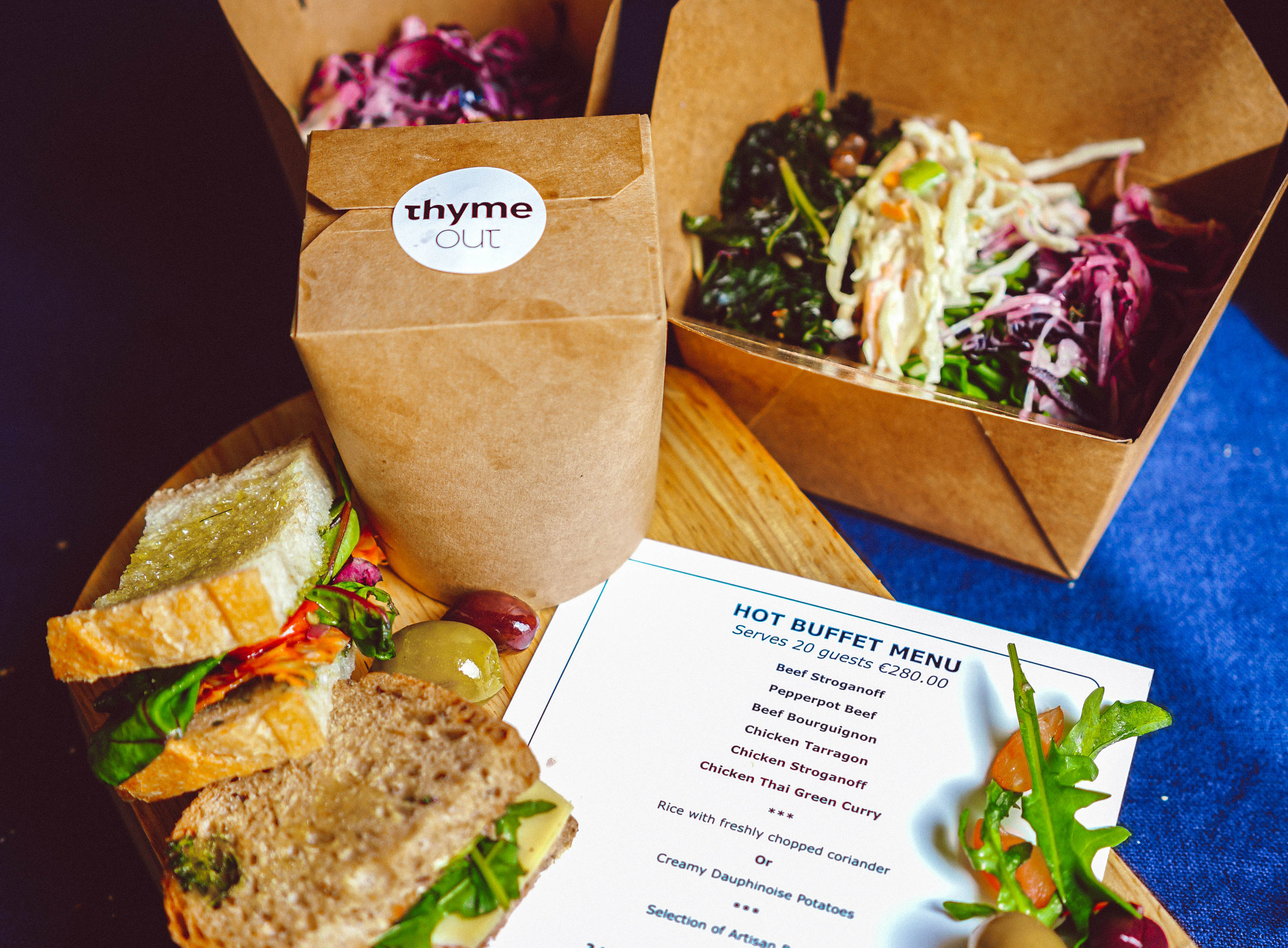 Thyme Out Food Boxes -
