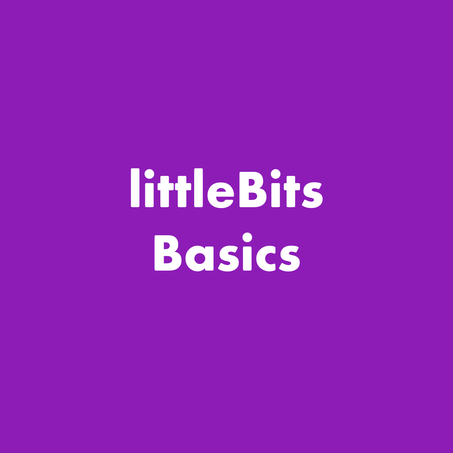 PDF: littleBits System Rules