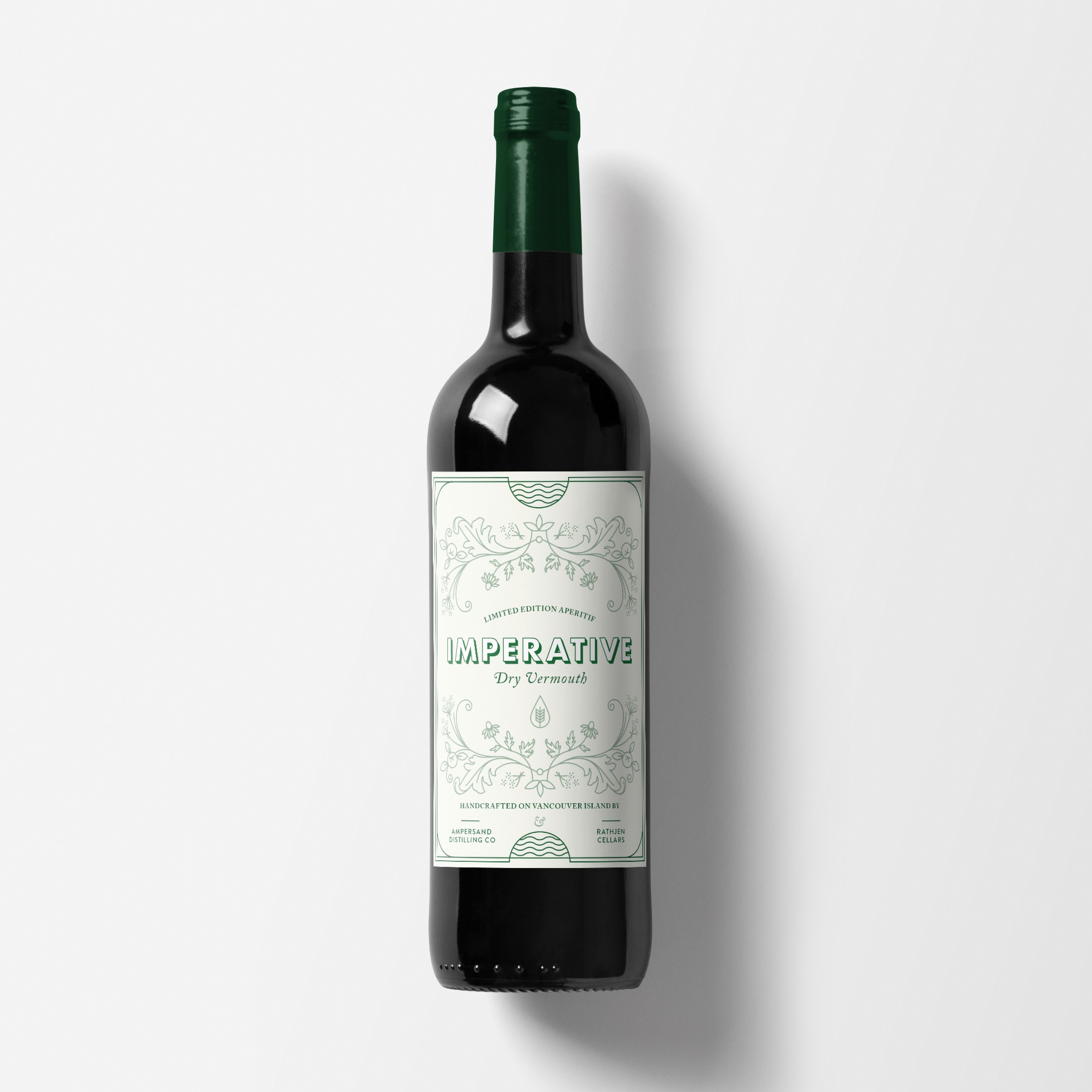 Imperative Dry Vermouth: Product Design